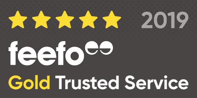 Feefo Gold Award 2019